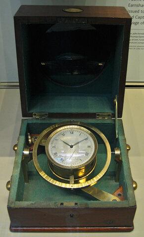 17. Cronometro náutico.