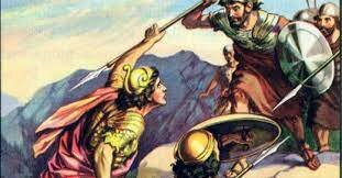 Jonathan Defeated the Philistines but Saul said that he did it.