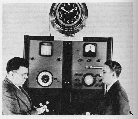 Reloj atómico basado en la vibración molecular