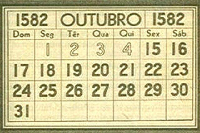 Calendario Gregoriano