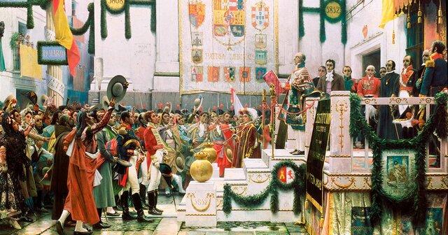 Las Cortes de Cádiz y La Constitución de 1812