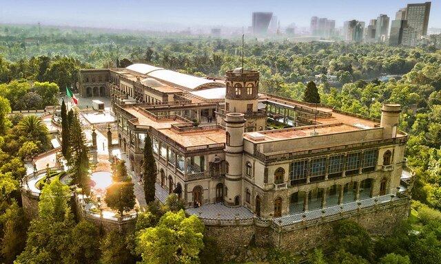 Caída del Castillo de Chapultepec