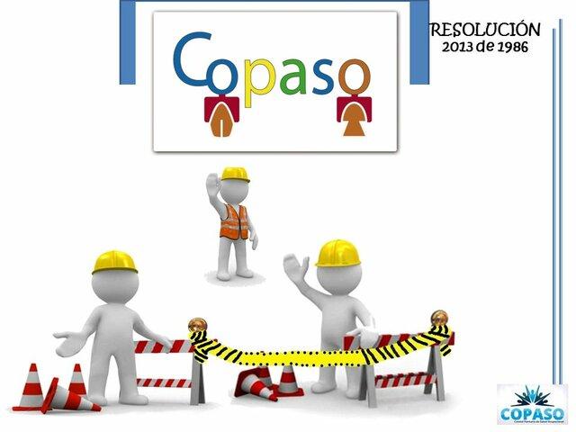 Resolución 2013 COPASO. (Colombia)