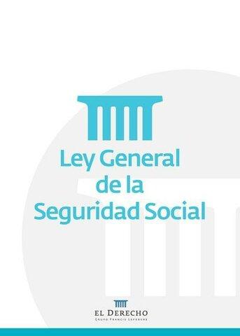 Ley de Seguridad Social. (Colombia)