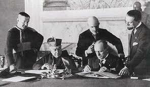 Firma del Tratado de Letrán (11/Feb/1929).