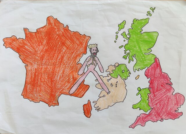 Wlliam of Normandy conquers England