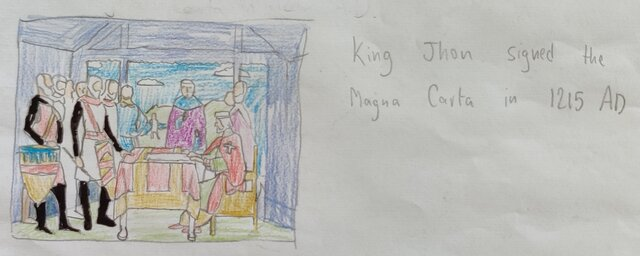 The Magna Carta is signed by King John