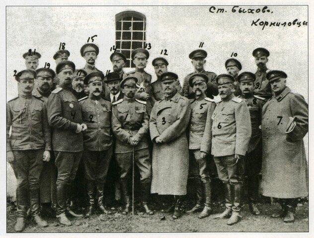 El Golpe de Estado del General Kornilov