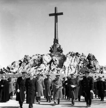 Inauguració del Valle de los caídos