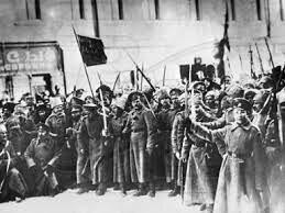 Creación de un soviet en Petrogrado