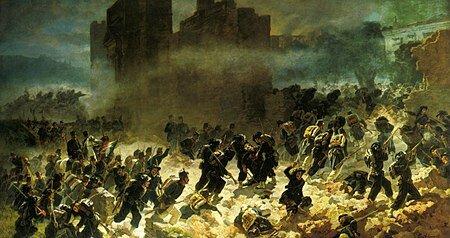 La conquista de Roma; fin de la Unificación Italiana (20/Sep/1870).