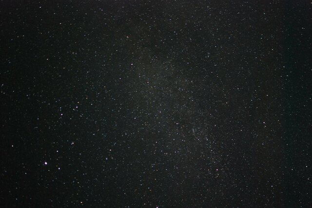 Watched the Perseids meteor shower in Paso Robles.