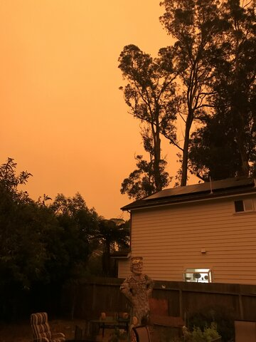 The CZU Lightning fires in Sept 2020 were horrible - it felt like the coast was on fire.