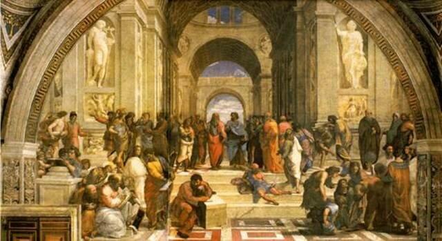 "La academia ""Platón"""