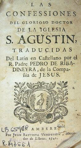 San Agustín Y Su obra Confesiones