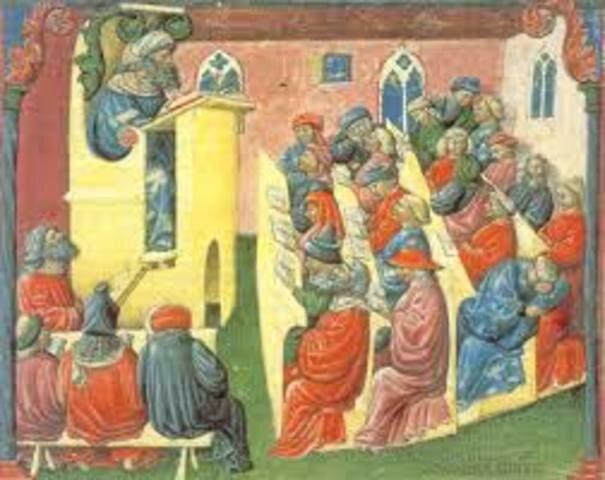 San Agustín (Características de la escuela cristiana)