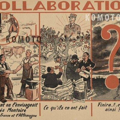 LA FRANCE DE LA COLLABORATION timeline