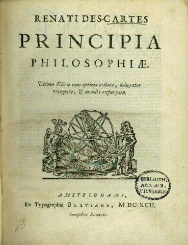 René Descartes  Principios de Filosofía