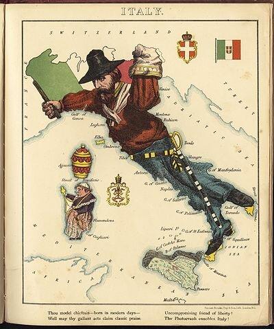 Anexión de Parma, Modena y Toscana.