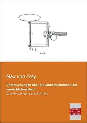 Teoría de las 4 sensaciones cutáneas(Maximilian Von Frey)