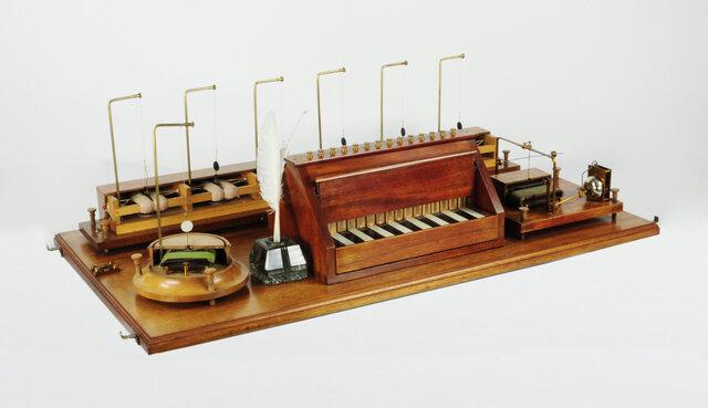 Изобретение электрического телеграфа