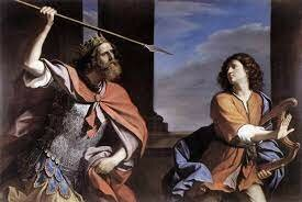 Saul tries to kill David