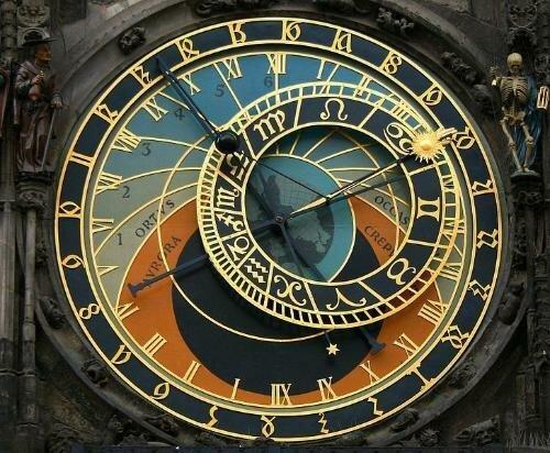 Primer reloj mecánico conocido en Milán.