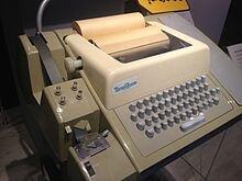 se crean el teletipo y el teleimpresor