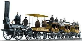 Dewitt Clinton, First Train To New York