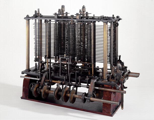 Аналитическая машина Бэббиджа - предшественница ЭВМ