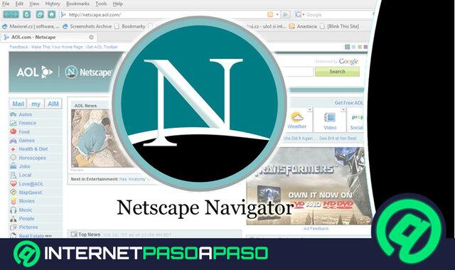 Navegador Web: Netscape Navigator.