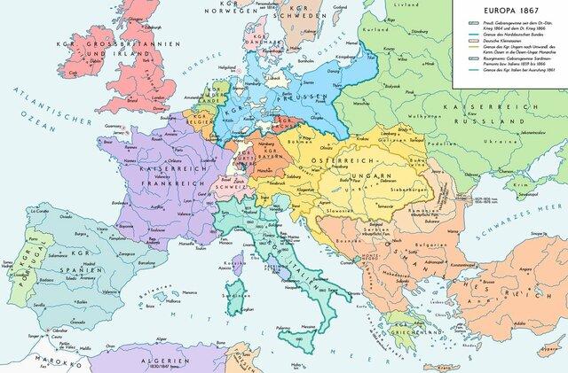 La confederación de la Alemania del Norte