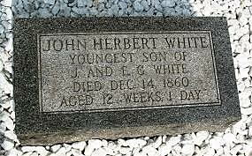 Nacimiento de John Herbert White, cuarto hijo de Elena y Jaime White