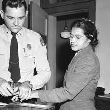 Rosa Parks Arrested (1955)