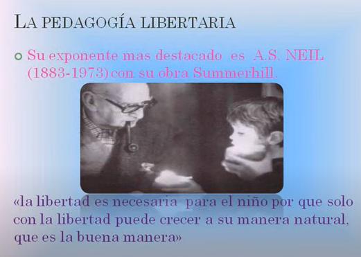 PEDAGOGIA LIBERTARIA