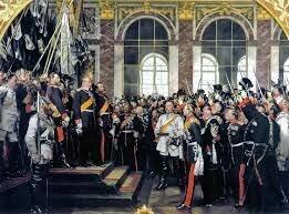 Fundación del Imperio Alemán proclamado en Versalles