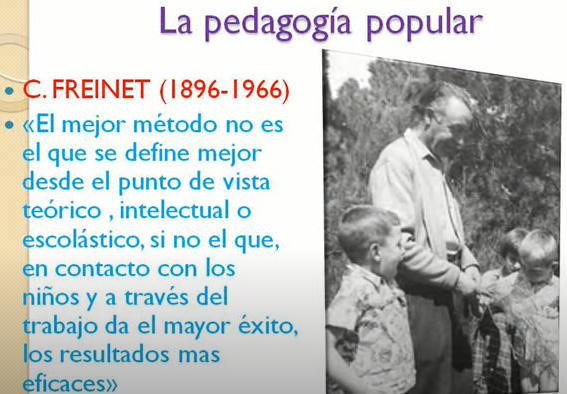 PEDAGOGIA POPULAR