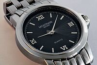 el primer reloj de cuarzo.
