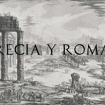ROMA Y GRECIA timeline