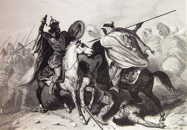 Invasión musulmana de la península  iberica