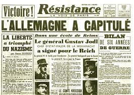 SIGNATURE DE LA REDDITION NAZIE