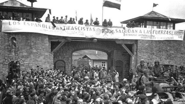 LIBÉRATION DU DERNIER CAMP DE CONCENTRATION NAZI. MAUTHAUSEN.