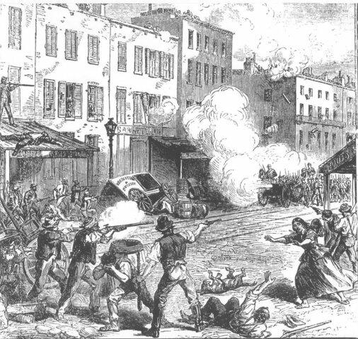 The new york draft riots