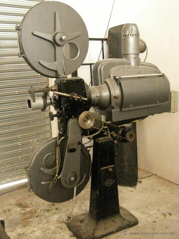 la invencion del proyector