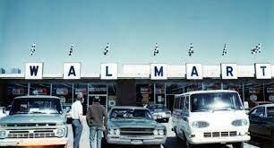Sam Walton opens first Walmart