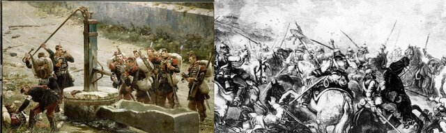 Batallas de Rezonville y Saint Privat