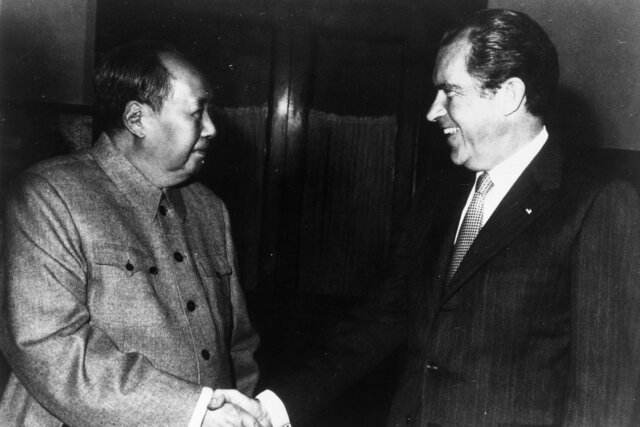 Nixon Visits Communist China