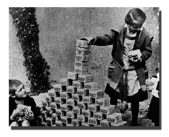 Hiperinflación alemana.