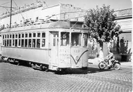 La desaparición del tranvía