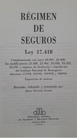 Sanción Ley 17418